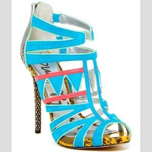 Sam Edelman Jazz Cutout Strappy Heel Sandal